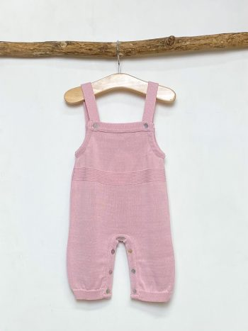 Soft Rose Longline Dungaree