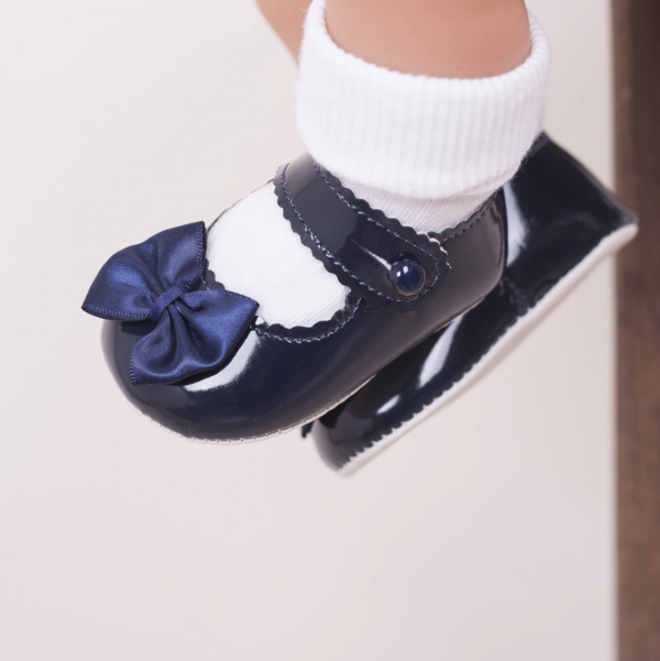 navy bow pre walkers 2