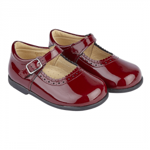 Burgundy Patent Alice