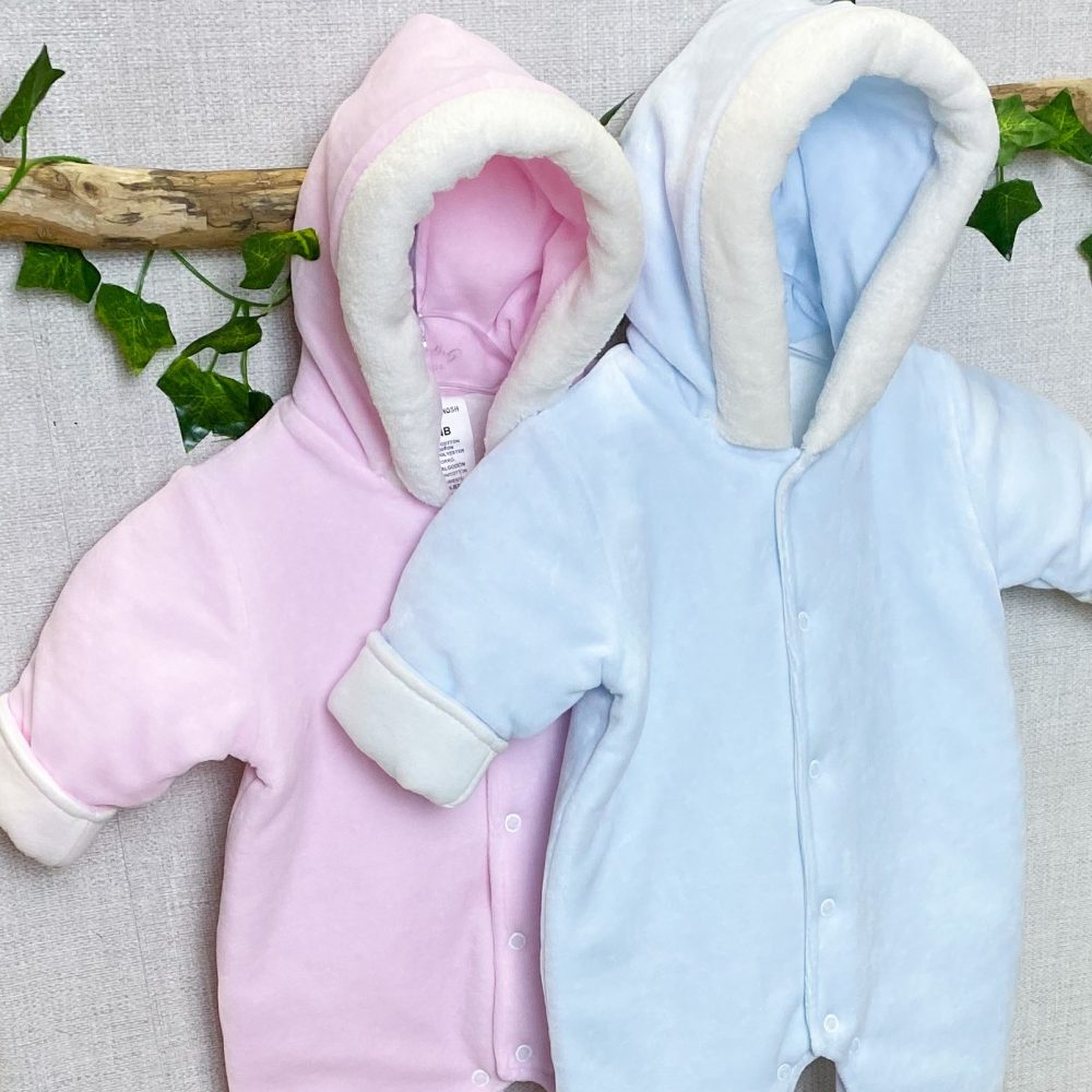 lined hooded pramsuits 2