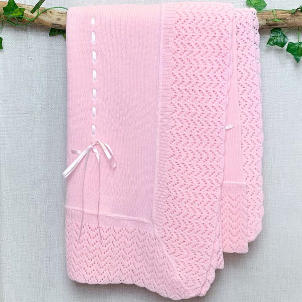 Pink Ribbon Shawl