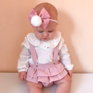 blouse & ruffle bloomers