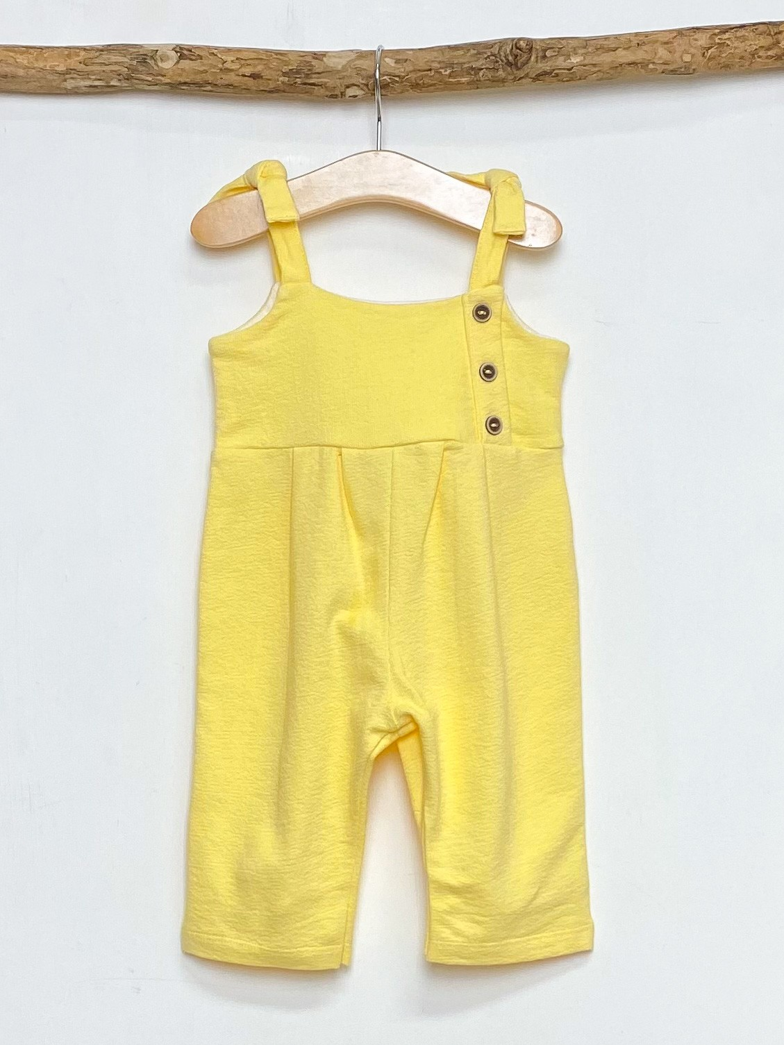 Yellow Strapped Jumpsuit