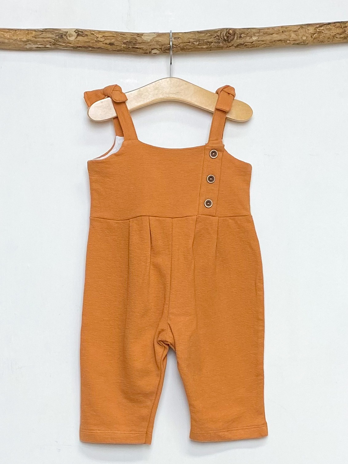 Rust Strapped Jumpsuit