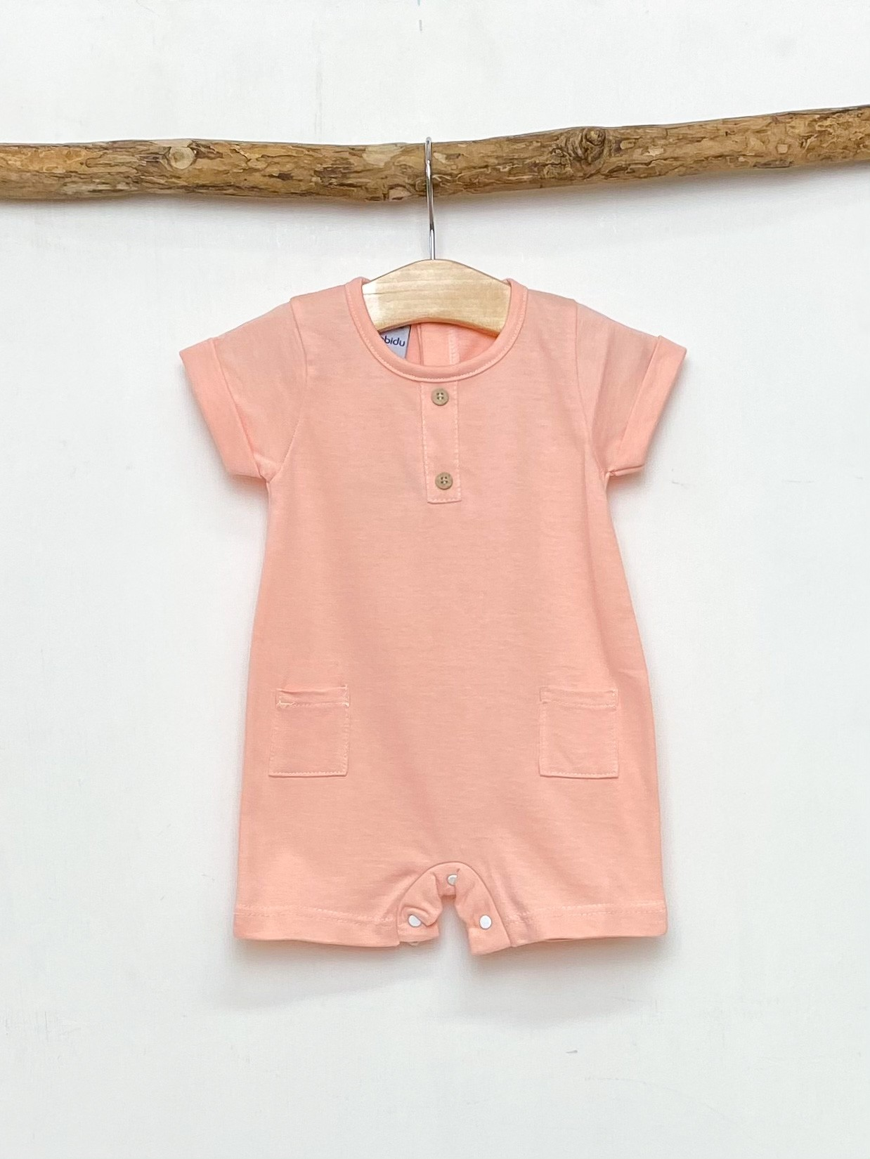 Melon Pocket Romper
