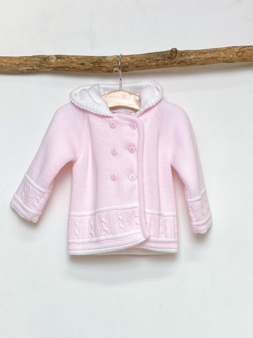 Pink Knitted Jacket
