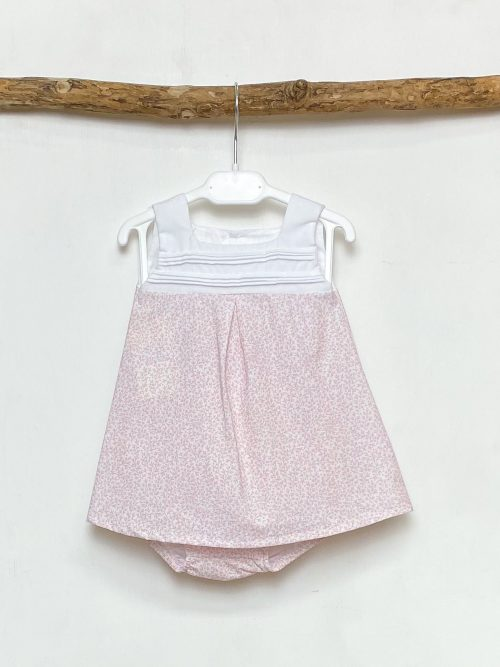 Ditsy Leaf Tunic & Bloomers