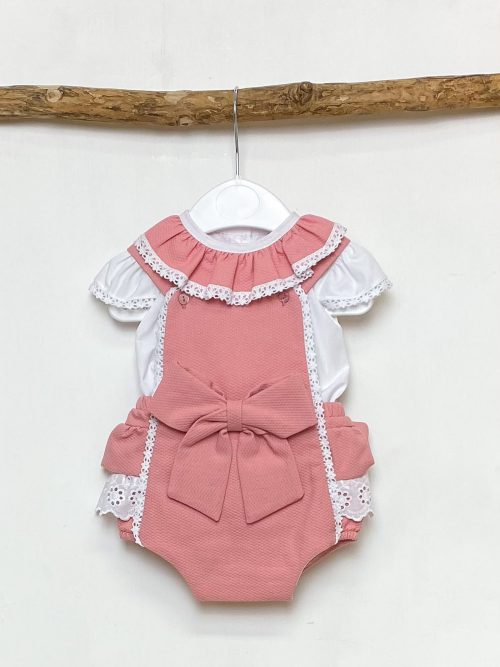 Blouse & Blush Bow Shortie