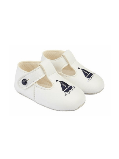 White & Navy Yacht Pre Walkers