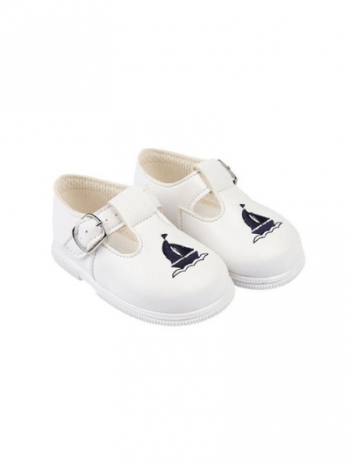 White & Navy Yacht First Walkers