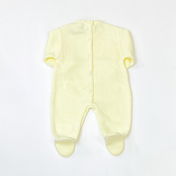 Lemon Cable Knit Onesie 2