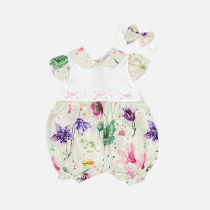 Floral Splash Shortie Set