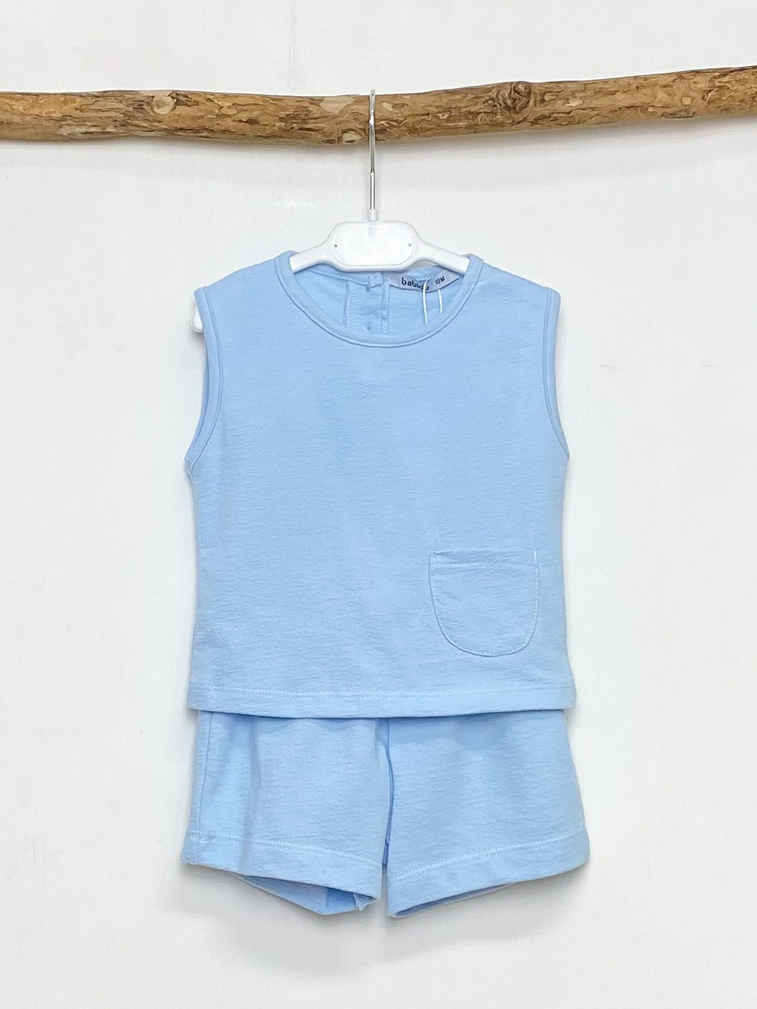 Sky Pocket Vest & Shorts