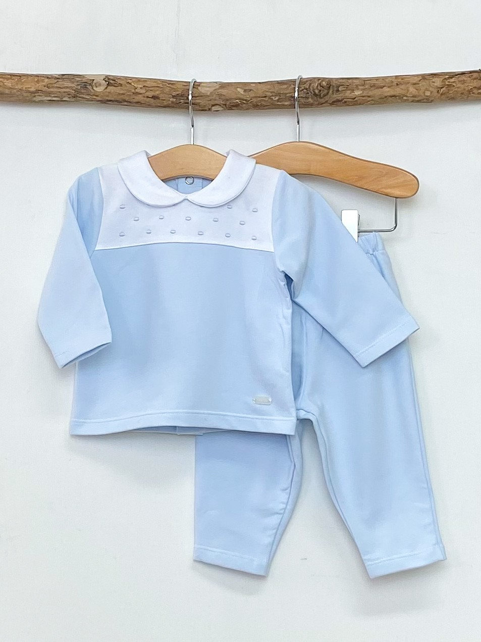 Sky Dotty Loungewear Set