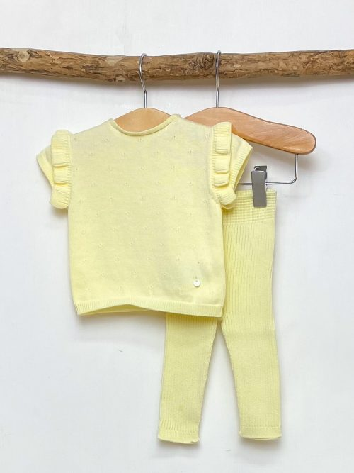 Lemon Knitted Top & Leggings
