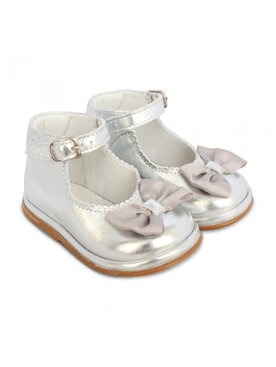 Silver Patent Leather Rita