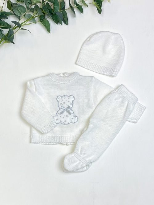 White Star Teddy Jumper & Leggings