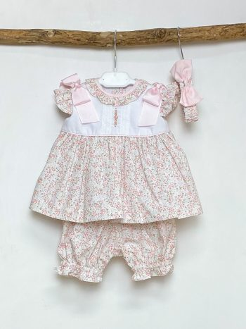 Ditsy Floral Dress & Bloomers