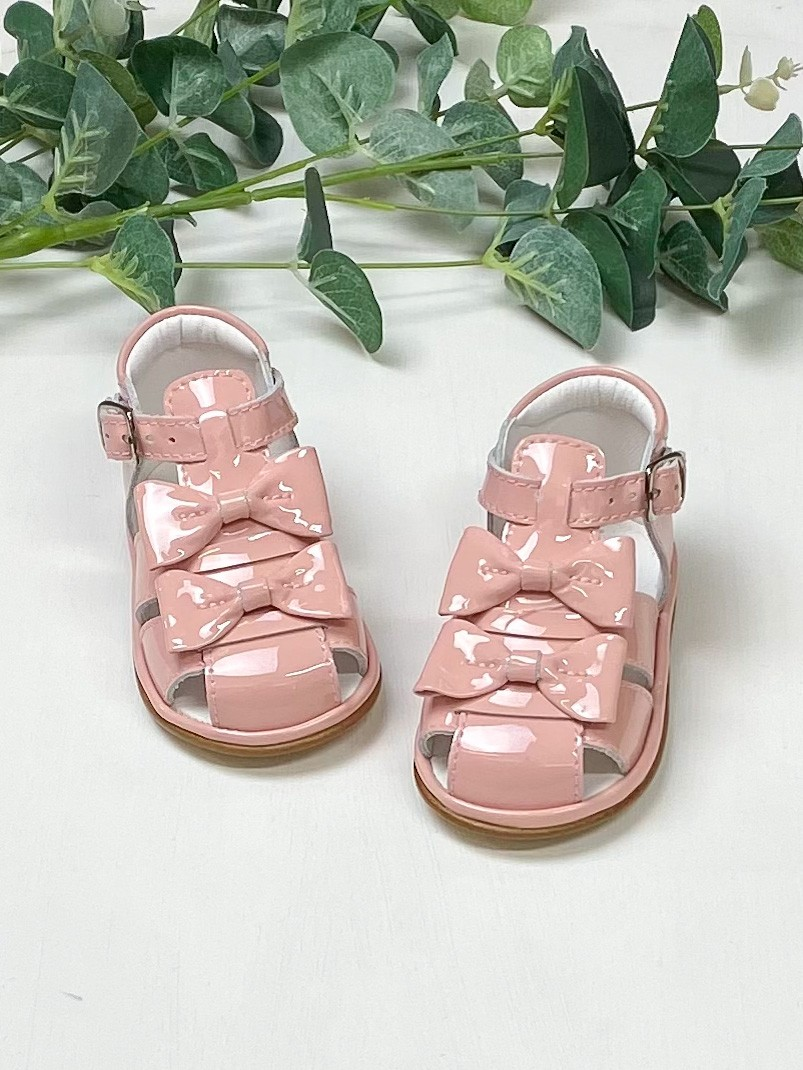 Pink Patent Leather Dina