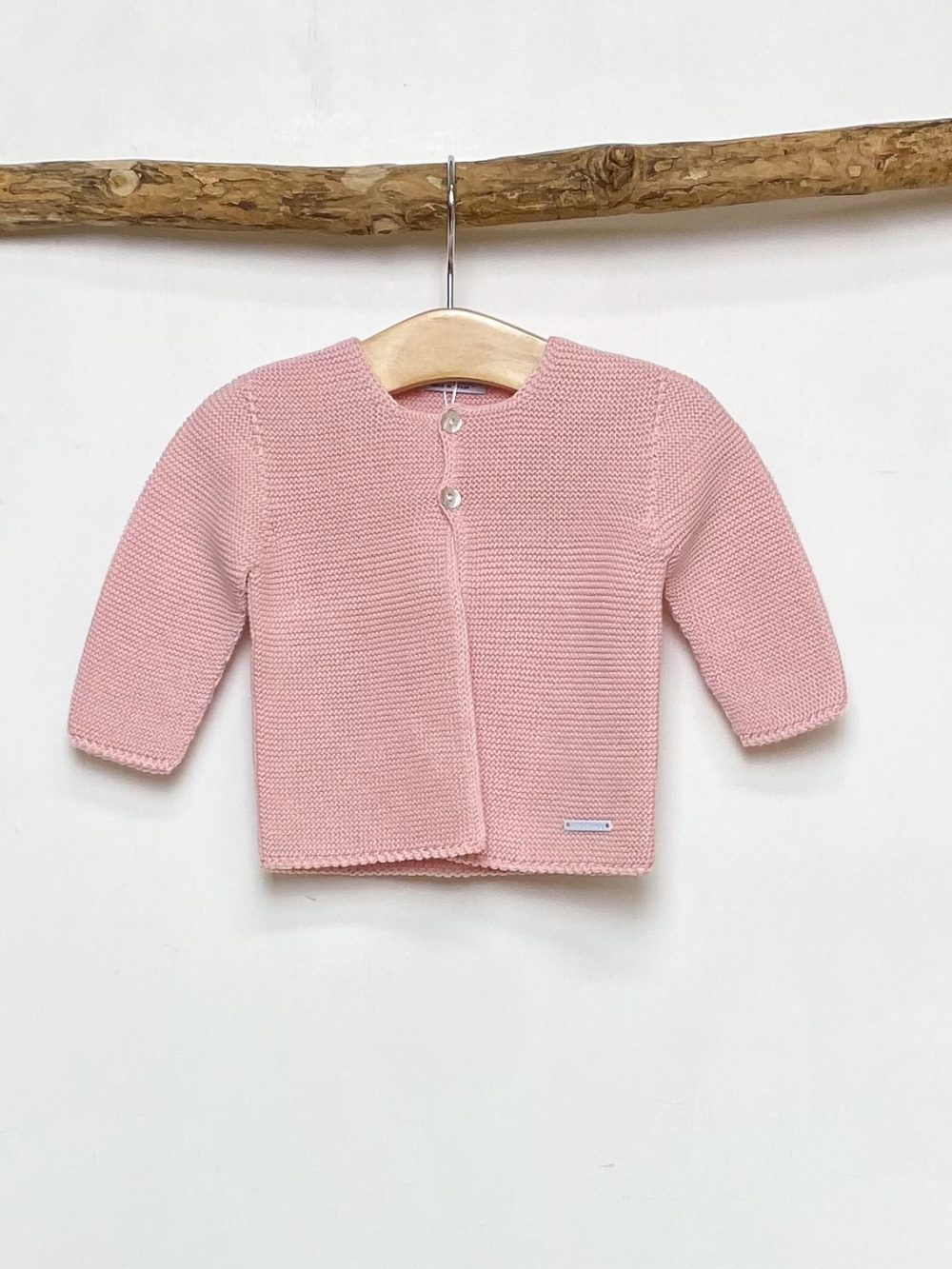 Knitted Pink Cardigan