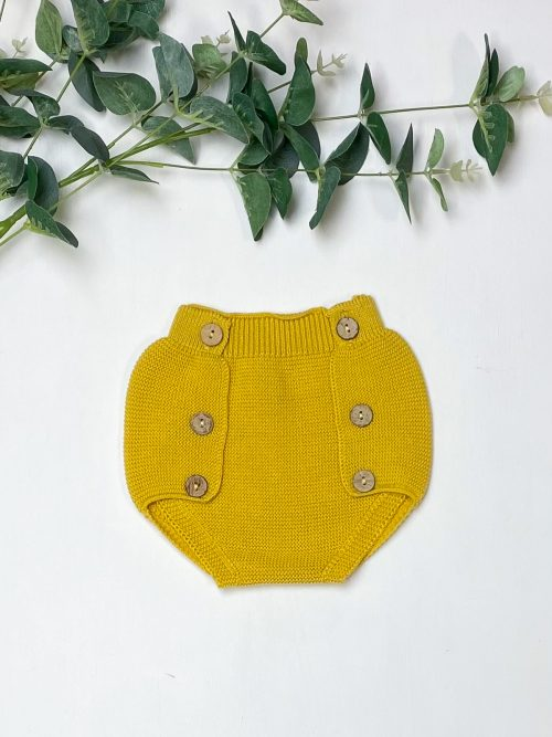 Knitted Mustard Jam Pants