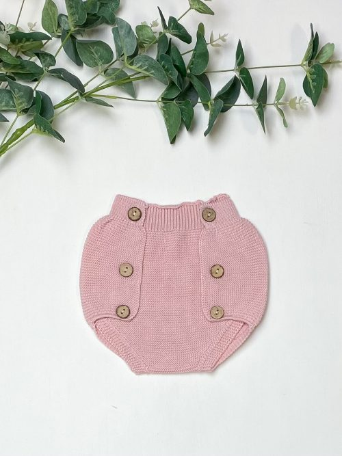 Knitted Pink Jam Pants