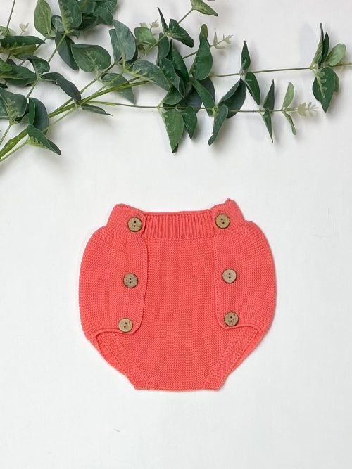 Knitted Coral Jam Pants