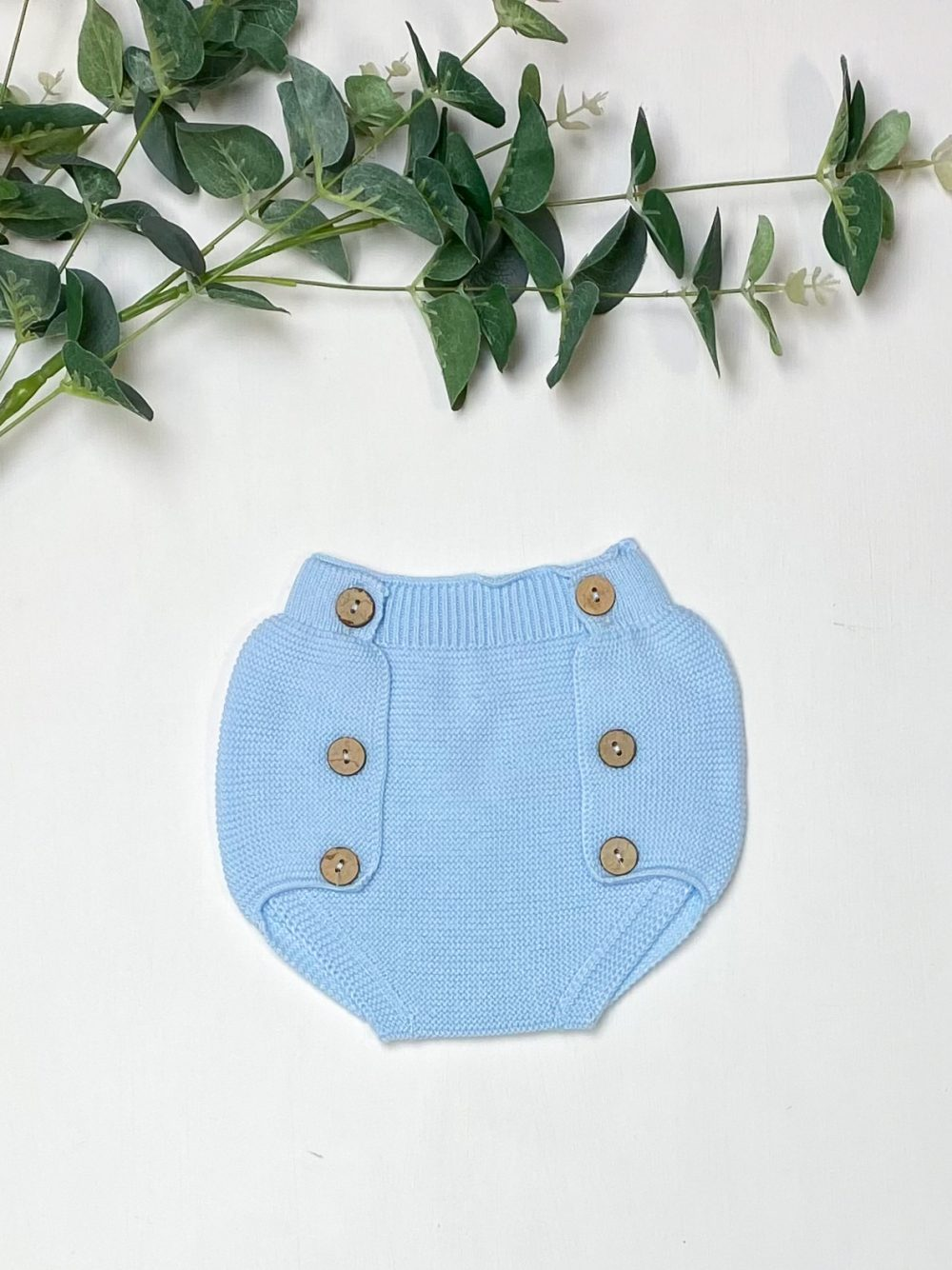 Knitted Blue Jam Pants