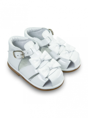 White Patent Leather Dina