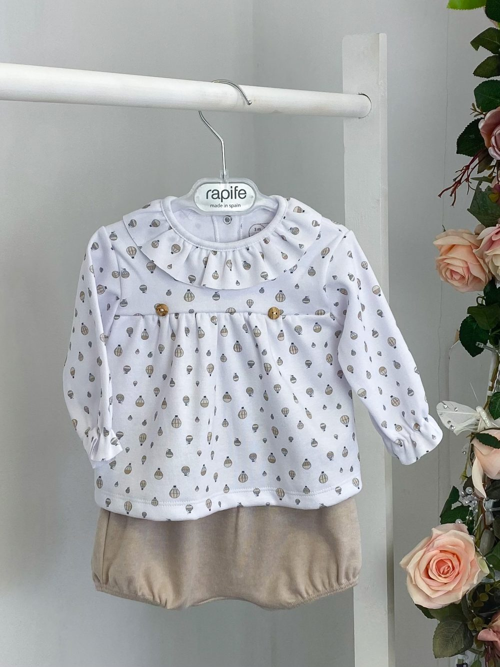 Hot Air Balloon Frilled Top & Bloomers