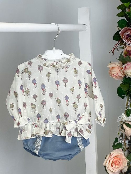 Hot Air Balloon Blouse & Bloomers