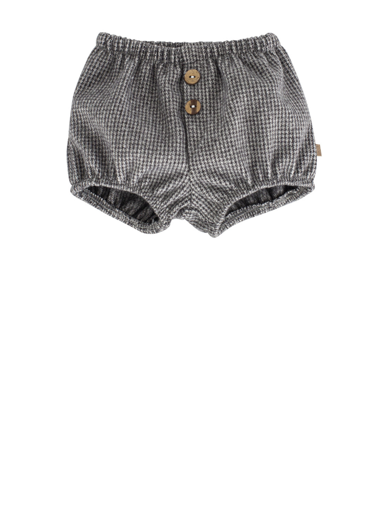 Charcoal Dogtooth Bloomers