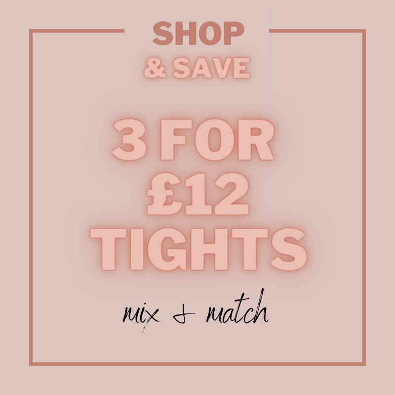 3 for £12 Tights