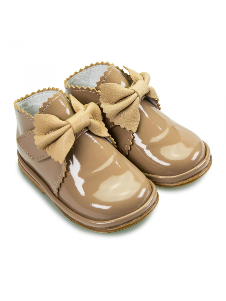 Camel Patent Leather Sharon