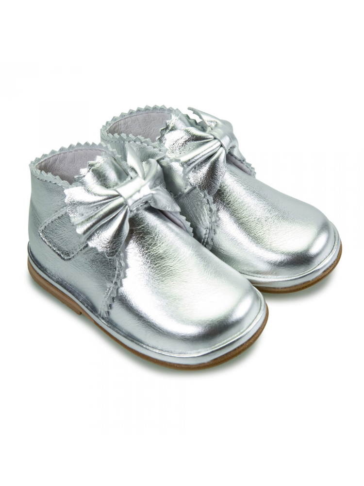 Silver Leather Sharon